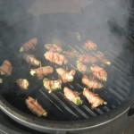 Bacon Wrapped Jalapeno Poppers on Grill