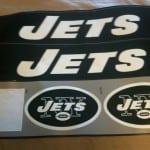 Jets Decals missing NFL shield logo