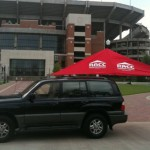 Red Retractable Awning Canopy Company