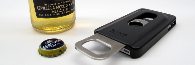 iPhone Bottle Opener case Featured