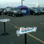 Point Pong NY Giants Tailgate