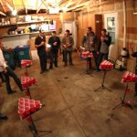 Pong Islands Garage beer pong party