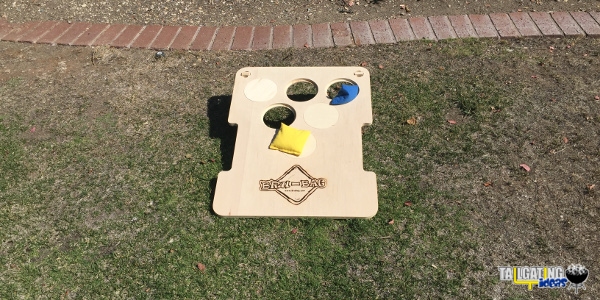 Bru-Bag conrhole beer pong game