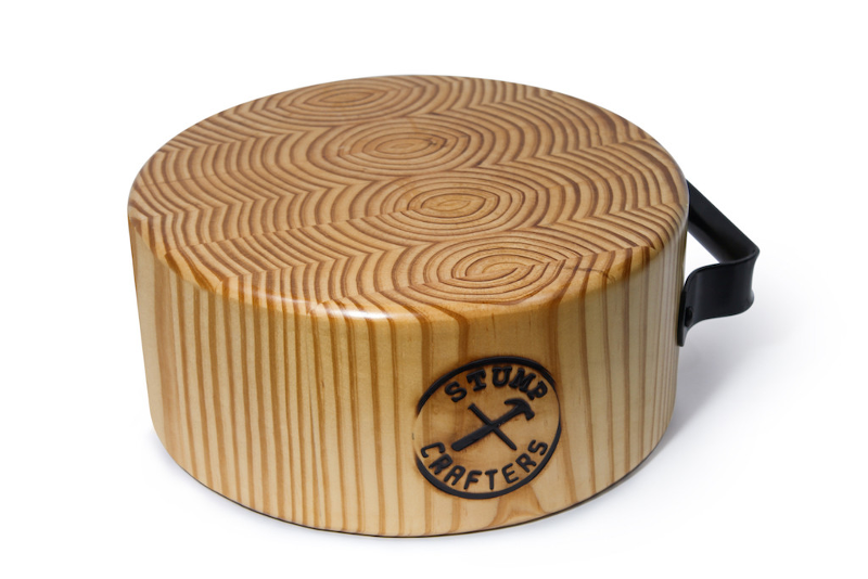 Portable Stump Game with handle by Stump Crafters