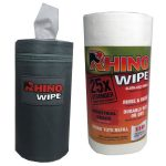 Rhino Wipes tote and refill