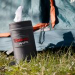 Rhino Wipes camping tent