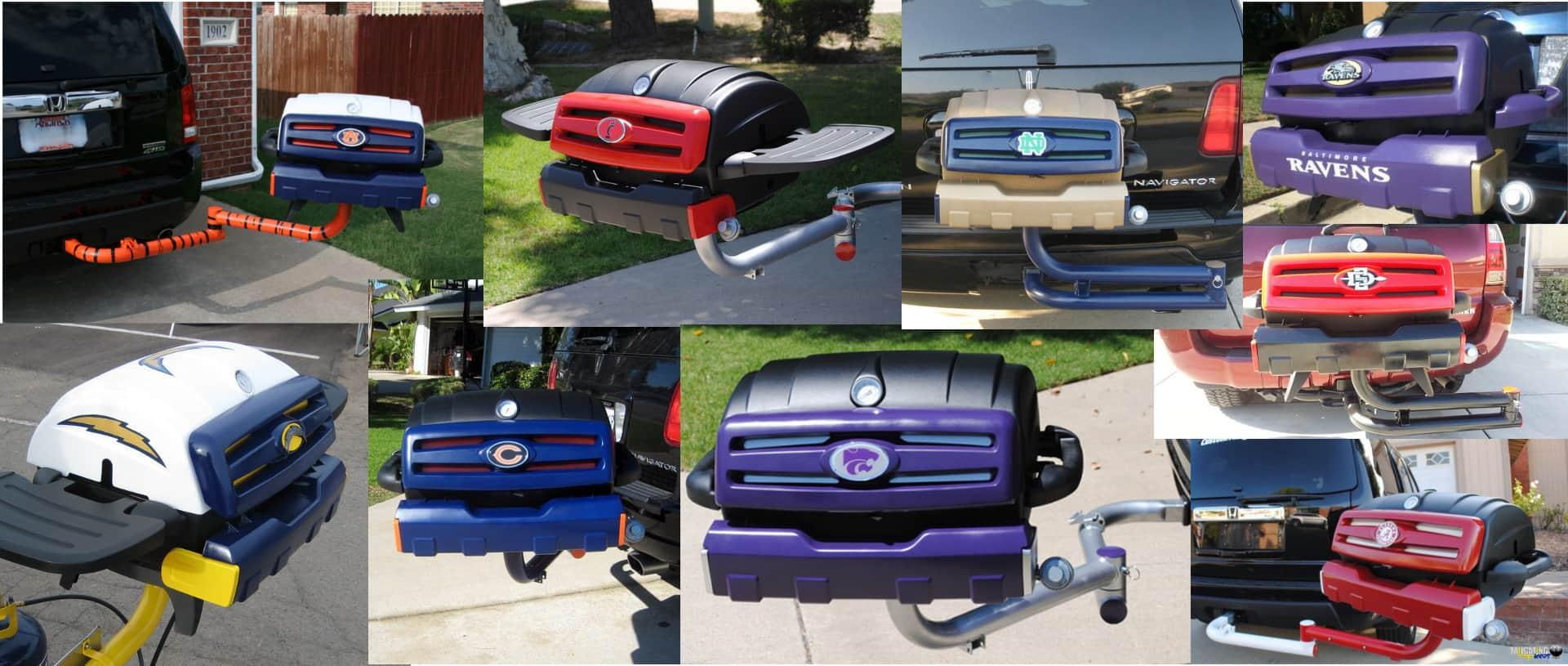 Custom tailgating grills